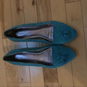 Anthropologie Pilcro Suede Loafers